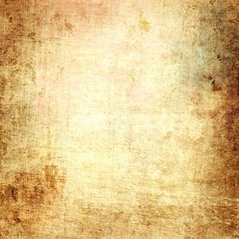 Fond d'art abstrait, texture grunge décorative marron beige de vieux papier rétro, rugueux