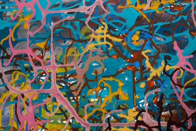 Fond d'art abstrait.