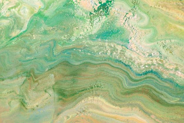 Fond d'art art fluide vert diy texture fluide abstraite