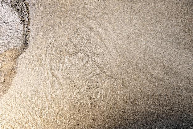 Fond d'art en marbre doré texture fluide de luxe bricolage