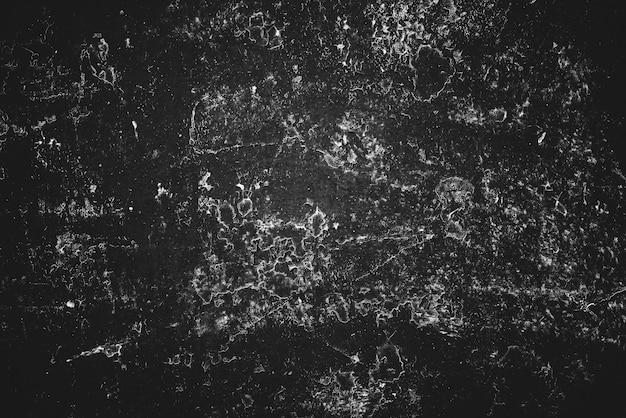 Fond d'art vintage noir et blanc. texture de stuc grunge décoratif. couverture de livre monochrome. gros plan de mur rayé tacheté. fond de plâtre peint en macro. plaque d'oeuvre en niveaux de gris.