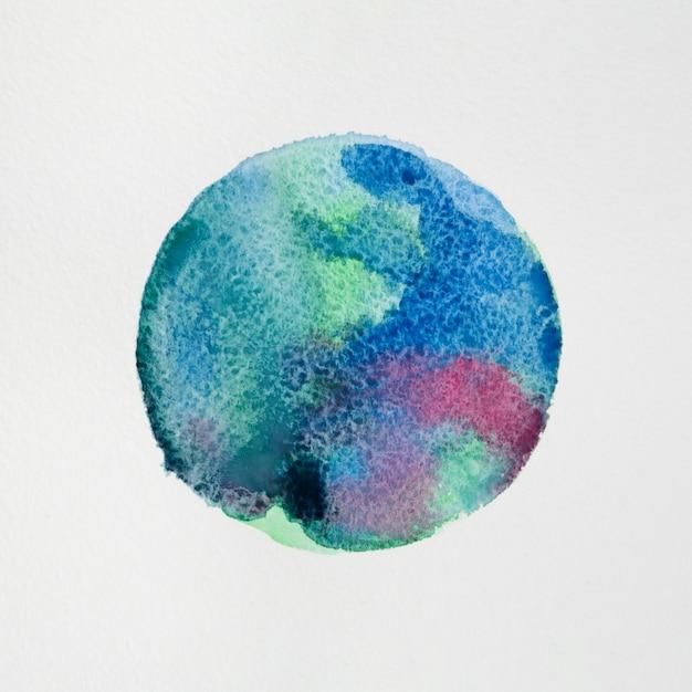 Fond artistique de texture aquarelle colorée