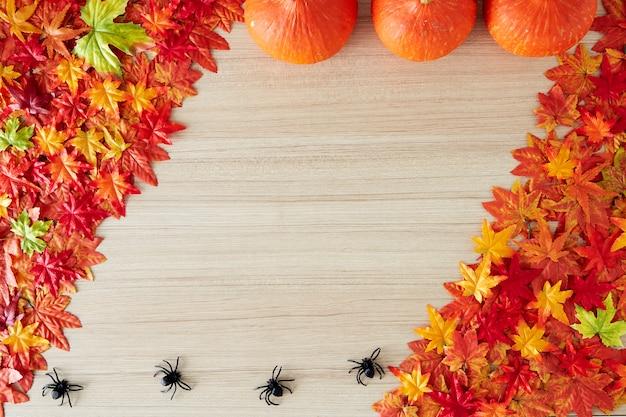 Fond d'automne d'espace libre et de temps d'automne