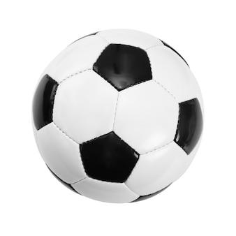 Fond de ballon de football blanc. concept de football