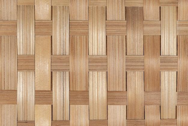 Fond de bambou en osier