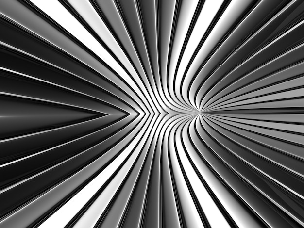 Fond de bande de métal gris géométrie couleur chrome