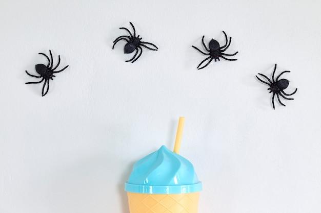 Fond de bannière joyeux halloween