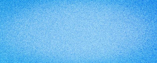 Fond de bannière large abstrait de texture de paillettes bleues