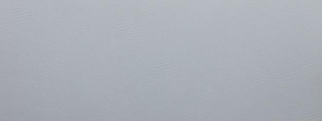 Fond de bannière de texture cuir gris clair lisse
