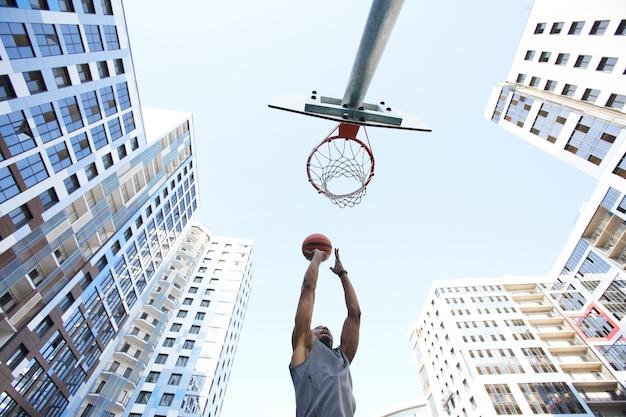 Fond de basket-ball
