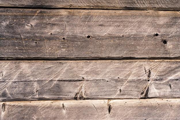 Fond De Belles Planches De Bois Texturées Sombres Humides Et Humides Photo Premium