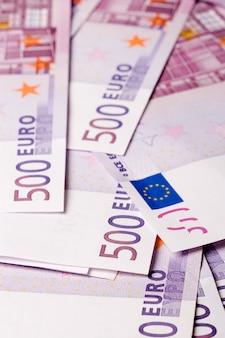 Fond de billets de 500 euros