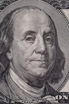 Fond de billets de cent dollars