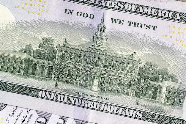 Fond de billets d'un dollar, argent des etats-unis