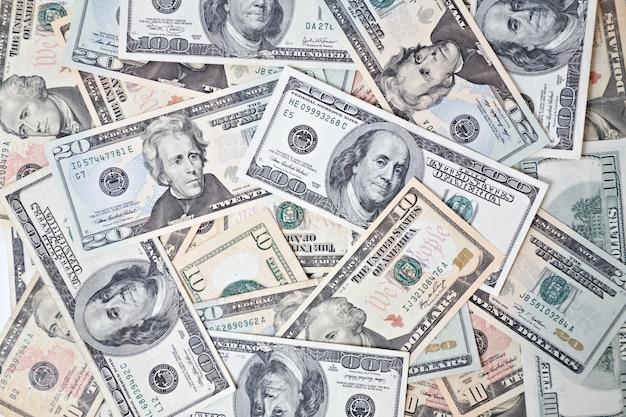 Fond de billets en dollar