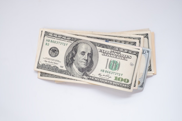 Fond de billets de dollars américains