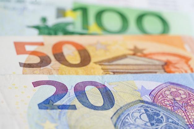 Fond de billets en euros