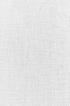 Fond blanc et détails de texture de tissu.