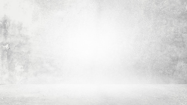 Fond blanc grungy de ciment naturel ou de texture ancienne en pierre comme mur de motif rétro. bannière murale conceptuelle, grunge, matériel ou construction.