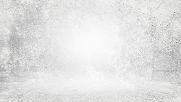 Fond blanc grungy de ciment naturel ou de texture ancienne en pierre comme un mur de motif rétro conceptuel wa ...