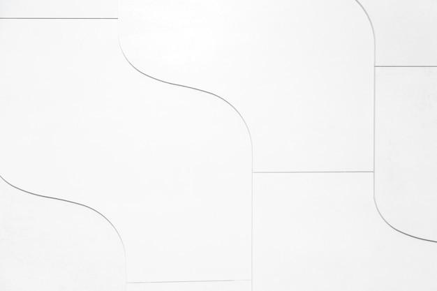 Fond blanc avec des lignes courbes noires
