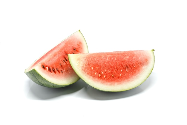 Fond blanc pastèque