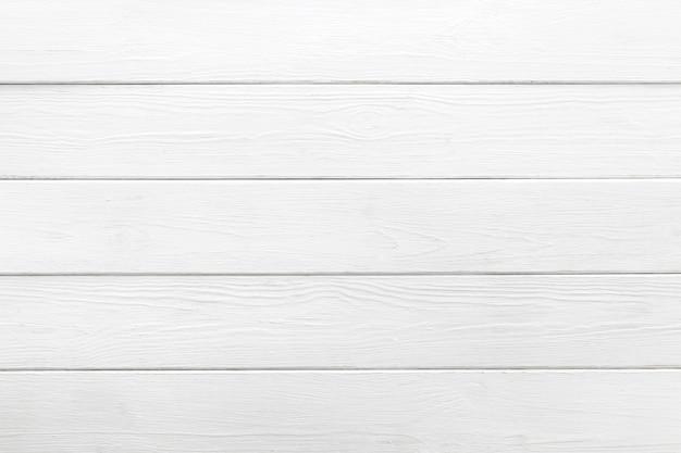 Fond blanc de planches de bois