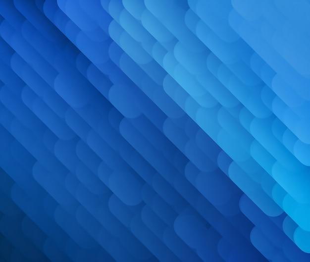 Fond bleu abstrait moderne pour votre projet