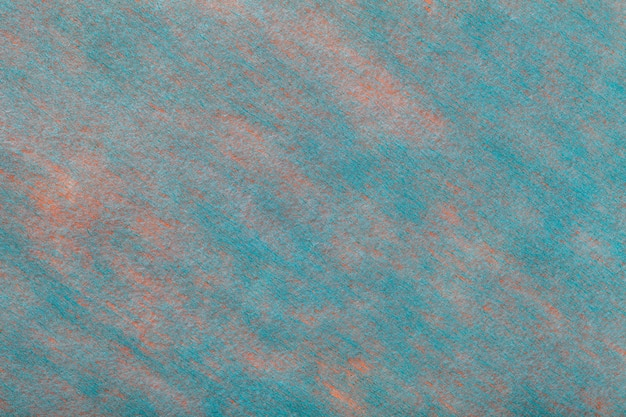 Fond bleu clair et rose en feutre