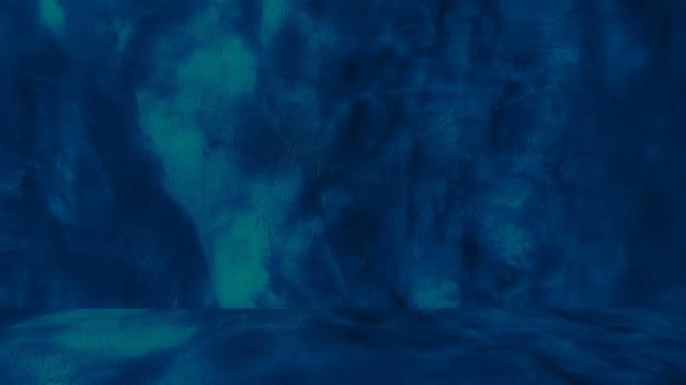 Fond bleu grungy de ciment naturel ou de texture ancienne en pierre comme mur conceptuel rétro...