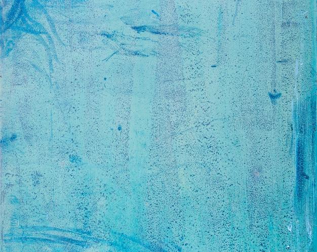 Fond bleu en métal inoxydable