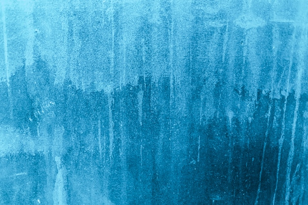 Fond bleu avec rayures éraflures et taches