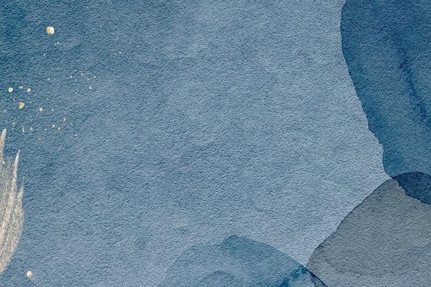 Fond bleu texturé aquarelle