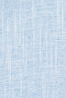 Le fond bleu de la texture du tissu. vide. sans motif