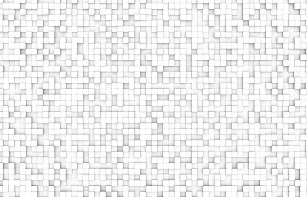 Fond de bloc de couleur blanche vue de dessus