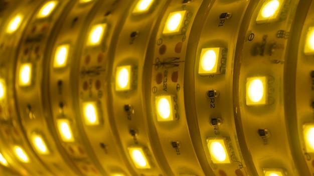 Fond de bobine de lumière à rayures décoratives