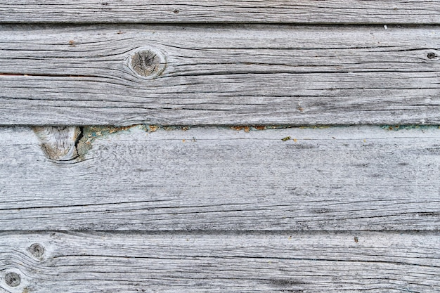 Fond de bois ancien et brut de couleur grise naturelle