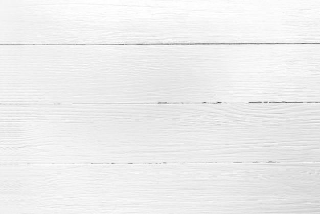 Fond en bois blanc texture de planche de bois