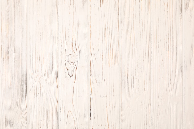 Fond en bois blanc
