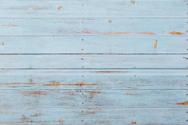 Fond en bois bleu doux