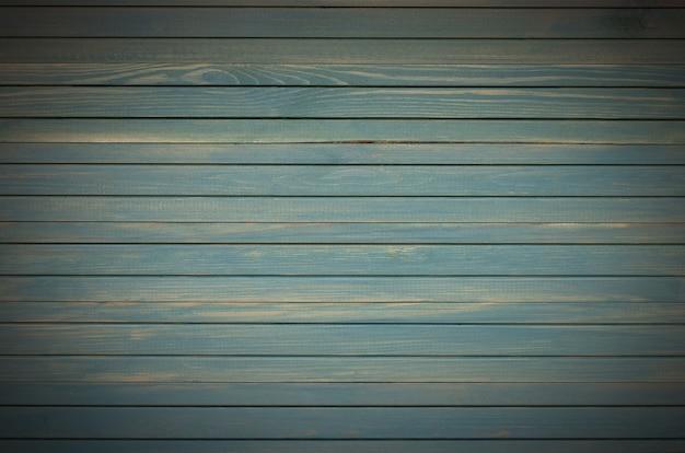 Fond en bois bleu fait de planches design