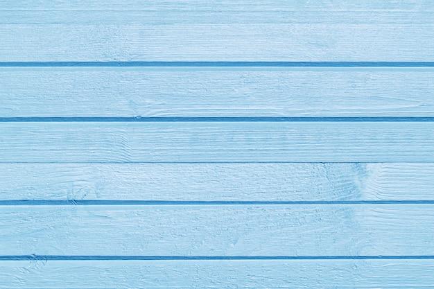 Fond en bois brossé peint en bois bleu pour copie espace