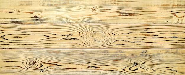Fond en bois clair surface texturée d'arbre naturel