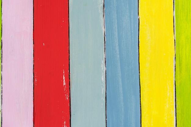 Fond en bois coloré