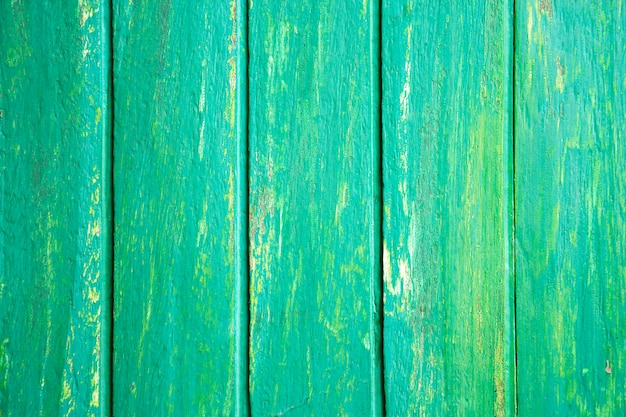 Fond en bois de couleur verte