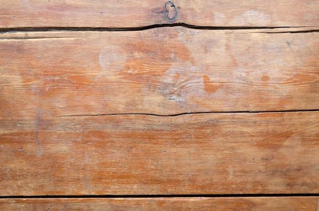 Fond en bois détaillé de dessus de table vintage