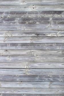 Fond en bois fait de vieilles planches. la texture d'une vieille clôture en bois rustique faite de planches traitées à plat.