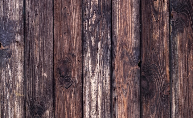 Fond en bois foncé, texture en bois ancienne
