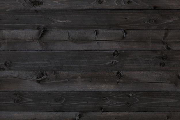 Fond de bois foncé, texture noire