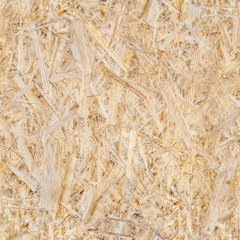 Fond en bois de gros plan de plaque osb. modèle sans couture.